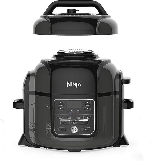 Amazon.com: NINJA OP300 - Olla a presión con crisper ...