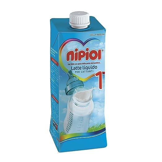 5 opinioni per Nipiol Latte Liquido 1- 12 confezioni da 500 ml- Totale: 6 l
