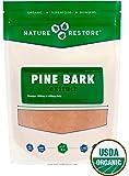 Nature Restore Organic Pine Bark Extract powder (226 grams), Standardized to 95% proanthocyanidins