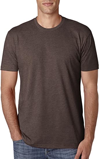 NEXT LEVEL Mens Blended TeeL Espresso N6210