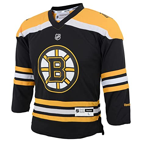 10dd7f34d Amazon.com : NHL Boston Bruins Boys Team Replica Player Jersey ...