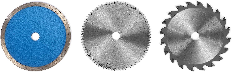 85mm 60T 10mm TCT Sägeblatt Kreissägenblatt Durchmesser Kreis Säge Blatt Neu DE