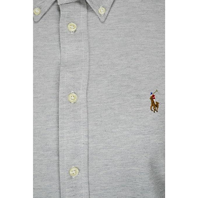 a1797f4dfd11bc Chemise polo Ralph Lauren Heidi grise pour femme  Amazon.fr  Vêtements et  accessoires