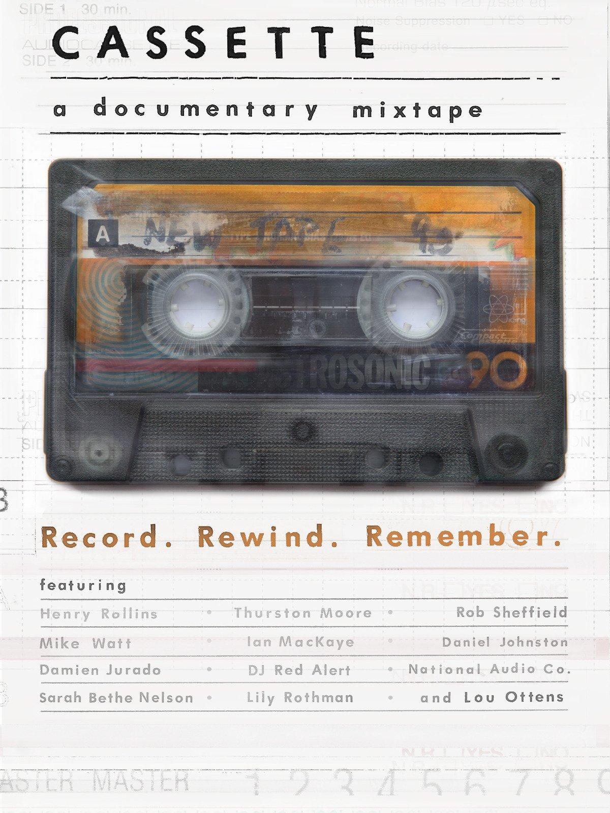 Cassette: A Documentary Mixtape on Amazon Prime Video UK