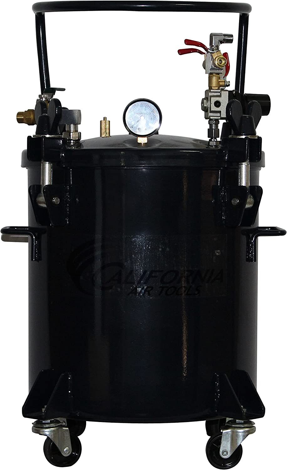 California Air Tools CAT-365C 5 gallon Pressure Pot For Casting, Black