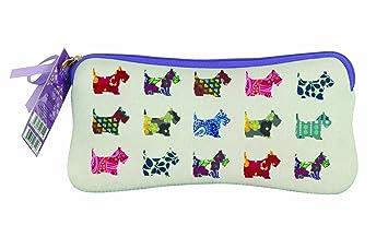 Santoro - Estuche de neopreno, diseño de perros de colores ...