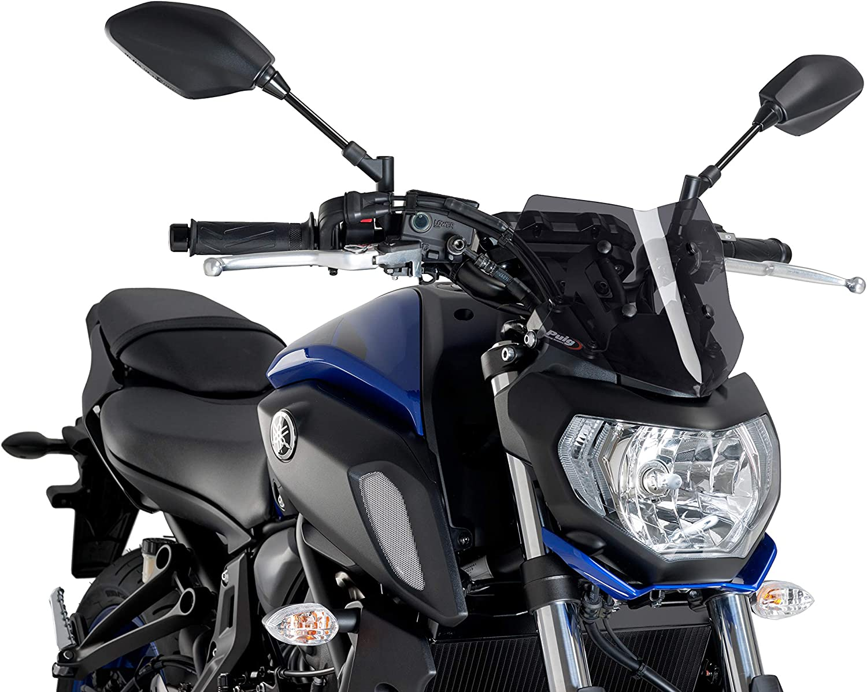 C//Dark Smoke Puig Windshield New GEN Sport Yamaha MT-07 18