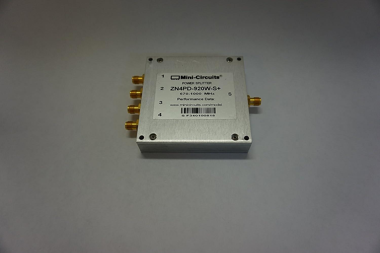 Mini Circuits ZN4PD-920W-S+ 670-1000 MHz Power Splitter: Amazon.com ...
