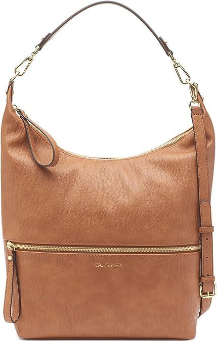 Calvin Klein 卡尔文克莱因 Elaine CK 人造革女式单肩包 3.7折$55.2 海淘转运到手约¥451