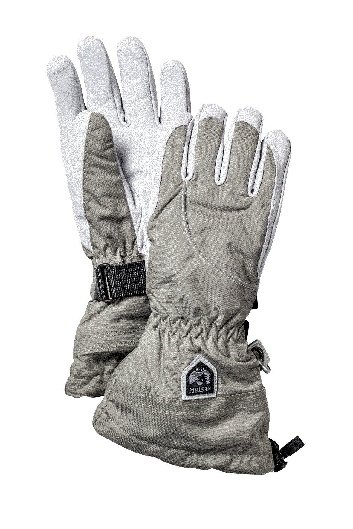 Hestra Women's Heli Gloves, Beige, Size 7