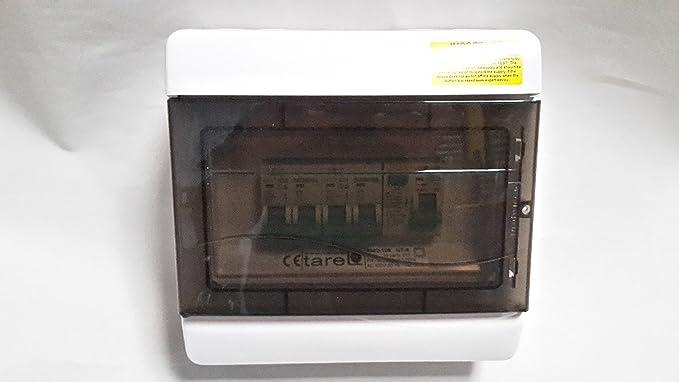 Ip40 2 3 Way Caravan Motor Home Tent Consumer Unit Fuse Box Rcd