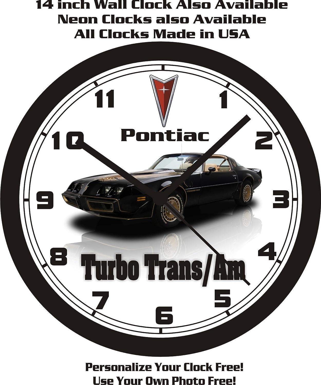 Amazon.com: 1981 PONTIAC FIREBIRD TURBO TRANS/AM WALL CLOCK-FREE USA SHIP: Home & Kitchen