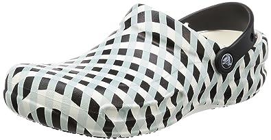 crocs Unisex-Erwachsene Bistroginghmclg Clogs, Weiß (White), 46-47 EU