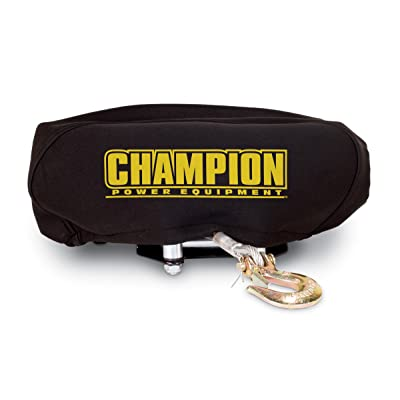 Champion Weather-Resistant Neoprene Storage Cover for Winches 4000-5000 lb.: Automotive [5Bkhe2007622]