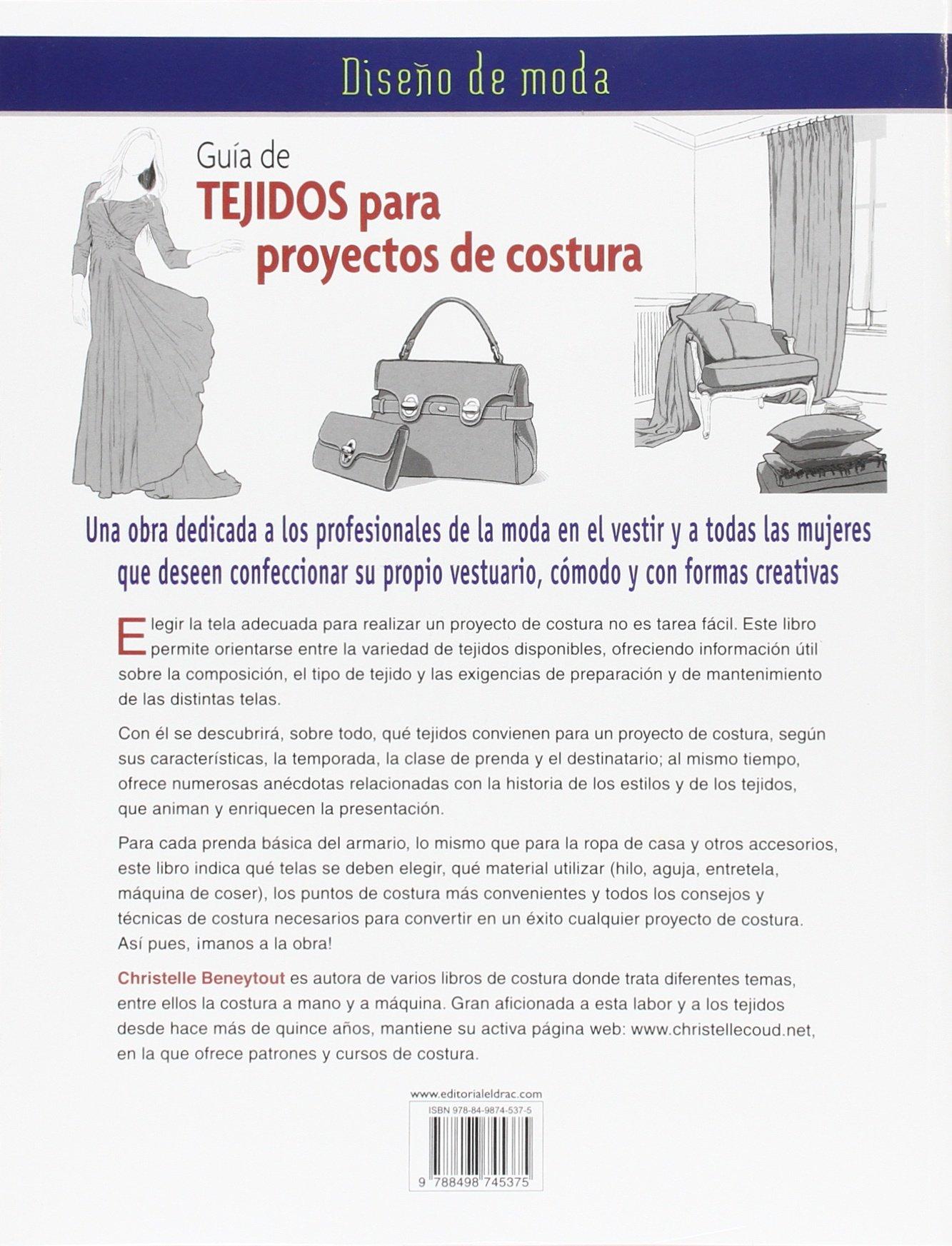 Diseño De Moda. Guía De Tejidos Para Proyectos De Costura: Amazon ...