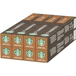Starbucks House Blend de NESPRESSO 80 Cápsulas de café