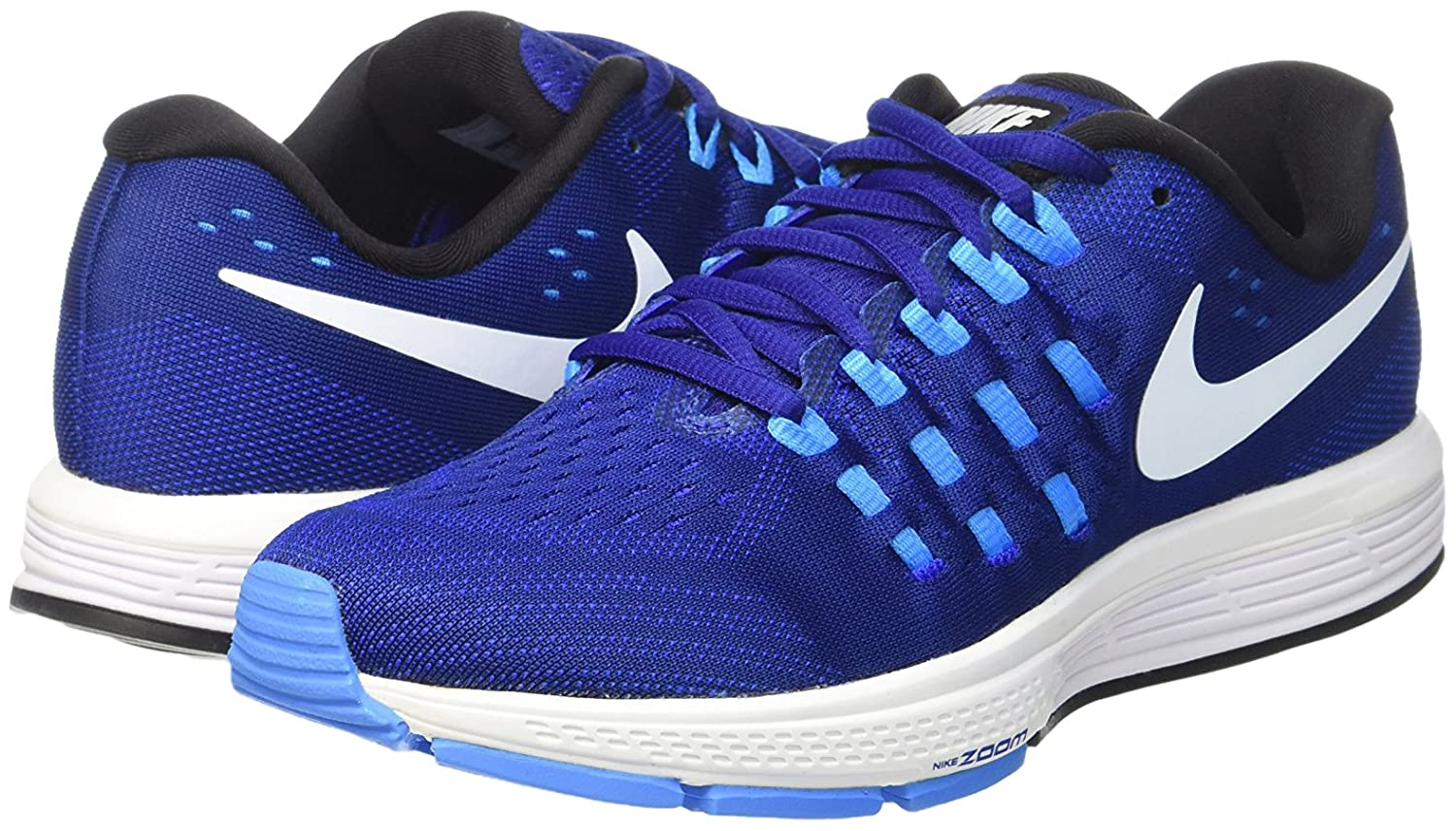 Amazon.com | Nike Air Zoom Vomero 11 Deep Royal Royal Blue/White/Blue  Glow/Black Women's Running Shoes Size 7.5 | Road Running