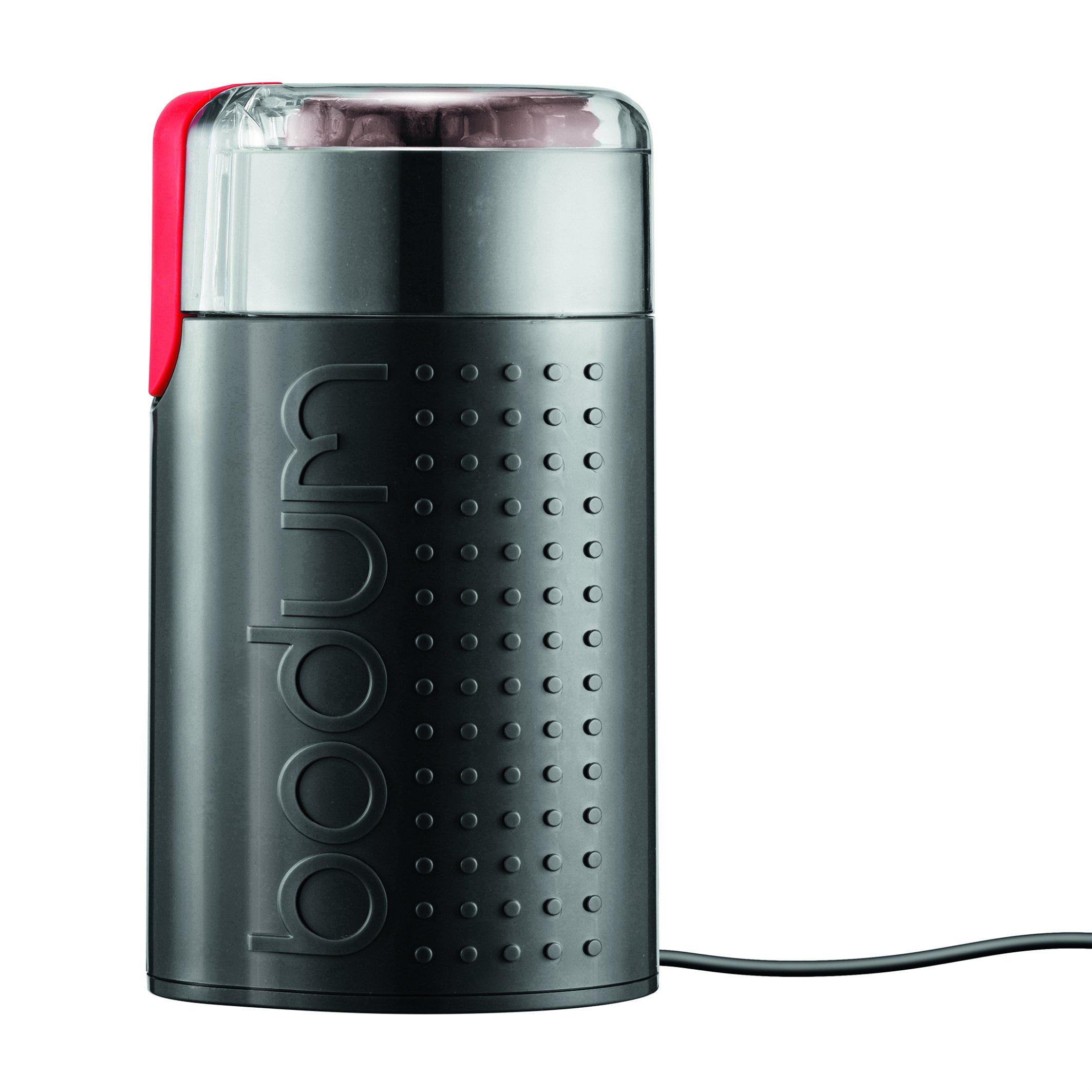 Bodum BISTRO Blade Grinder, Electric Blade Coffee Grinder, Black by Bodum (Image #1)