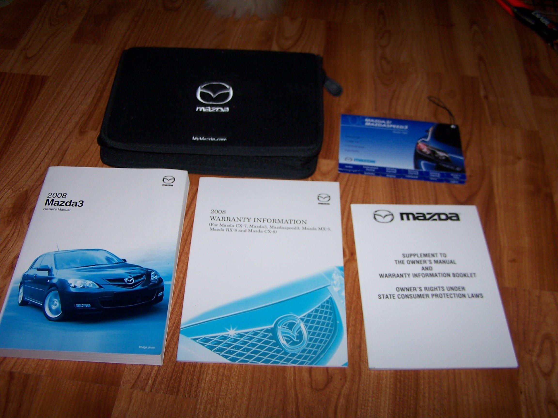 2016 mazda 3 owners manual: mazda: amazon. Com: books.