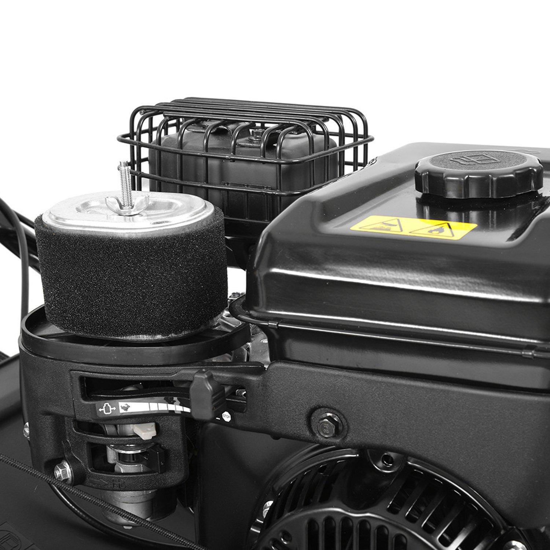HECHT 5675 profesional Gasolina Escarificador Césped Ventilador ...