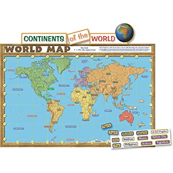 Amazon teacher created resources world map bulletin board teacher created resources world map bulletin board 4410 gumiabroncs Choice Image
