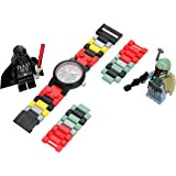 LEGO Girls 8020813 Year - Round Analog Quartz Red Watch
