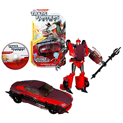 Transformers Prime Robots In Disguise Deluxe Class Knock Out