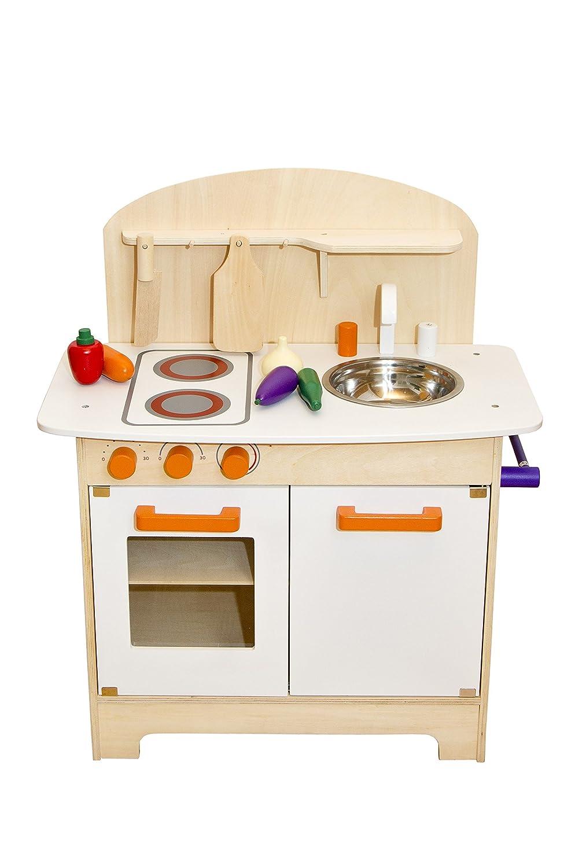 Glow2B Spielwaren 1000016 - Cucina in legno: Amazon.it: Giochi e ...
