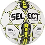 Select Sport America Blaze Db Soccer Ball, Size 5, White/Yellow