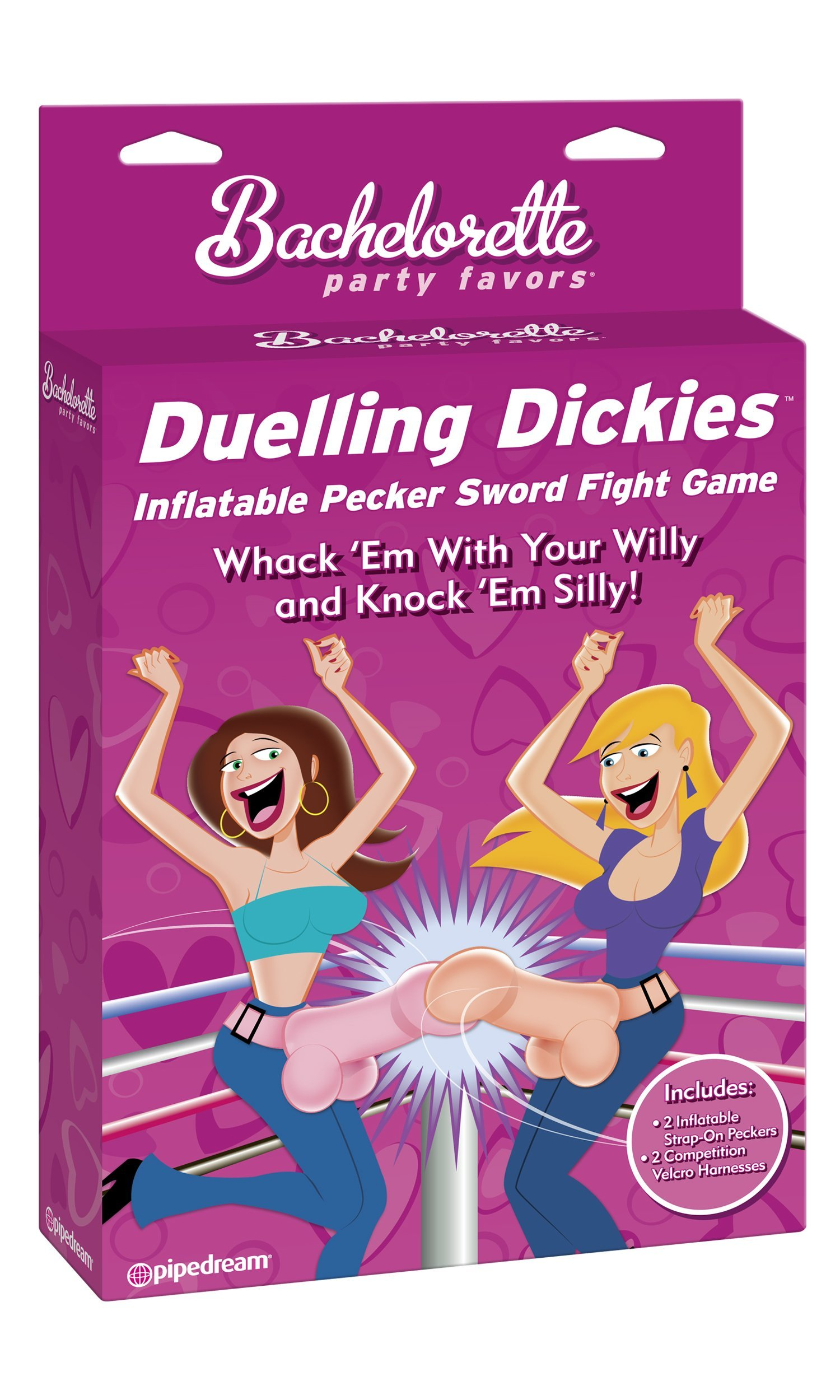 Bachelorette Party Favors Dueling Dickies Inflatable by Pipedream Products