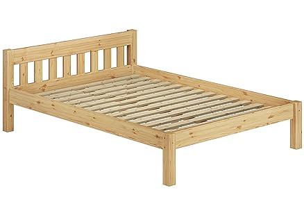 60.38-12 letto in legno di pino massiccio 120x200 cm: Amazon.it ...