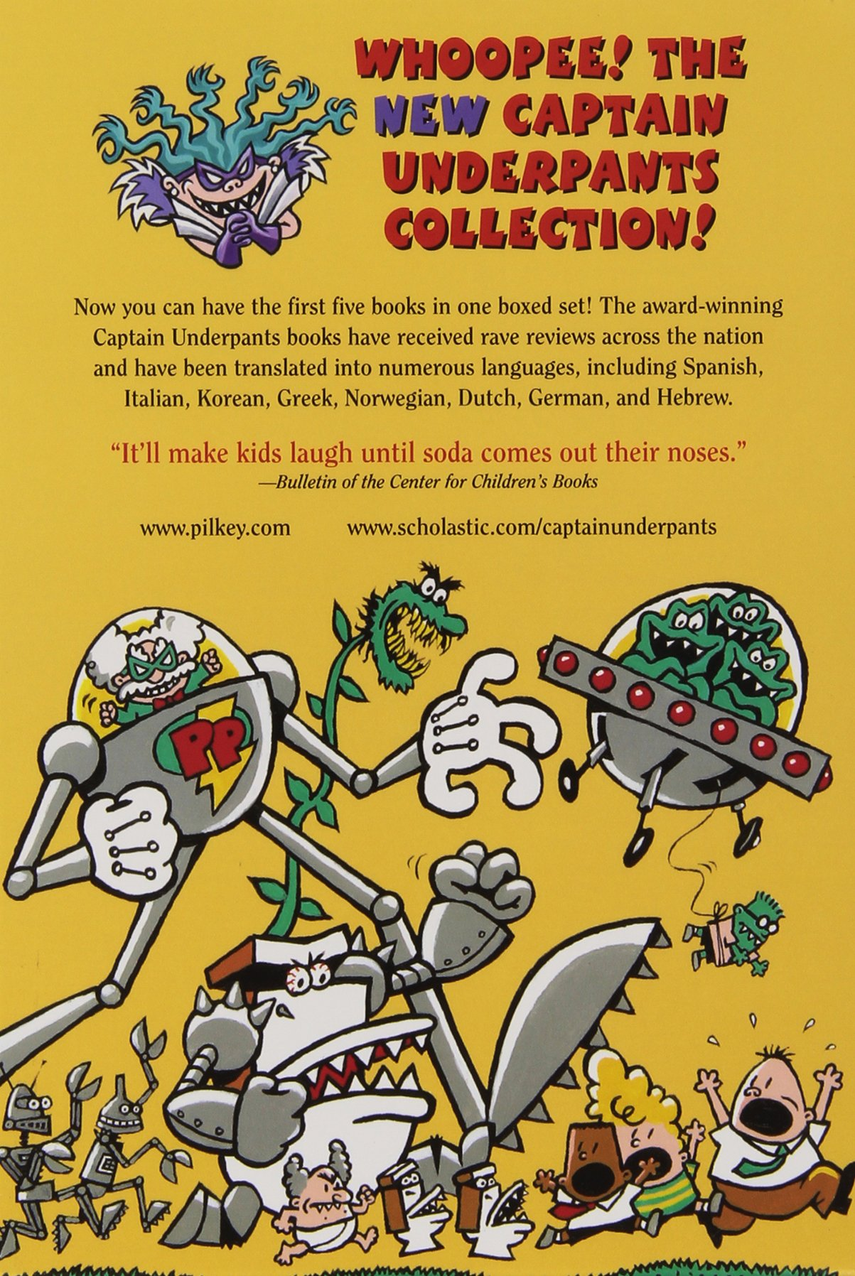 The New Captain Underpants Collection (Books 1-5) by The Blue Sky Press (Image #9)