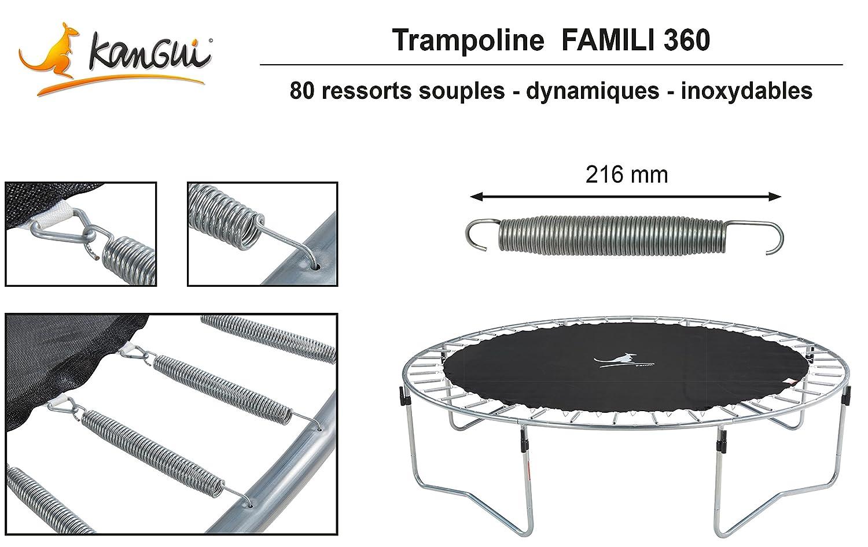 Kangui – Trampolín familiar 360, Grège, 3,60 m: Amazon.es ...