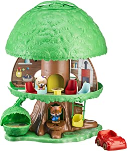 Fat Brain Toys Timber Tots Tree House Classic & Retro Toys for Ages 2 to 4
