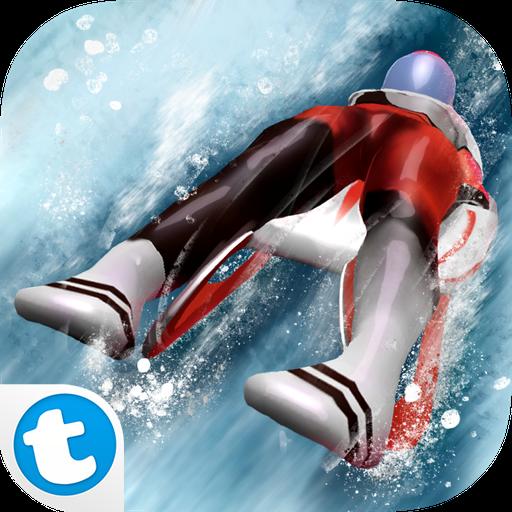 Rennrodel Meister 3D - Wintersport