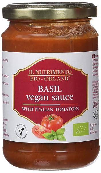 Il Nutrimento Salsa Albahaca con Tomate - 6 x 280 gr