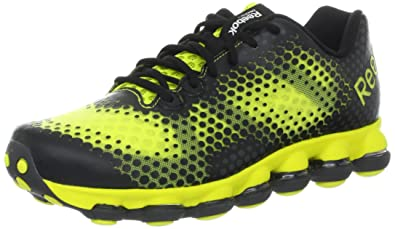 new style 14ff8 69e50 Reebok Men s Skycell DMX Running Shoe,Gravel Black Solar Green,11 M