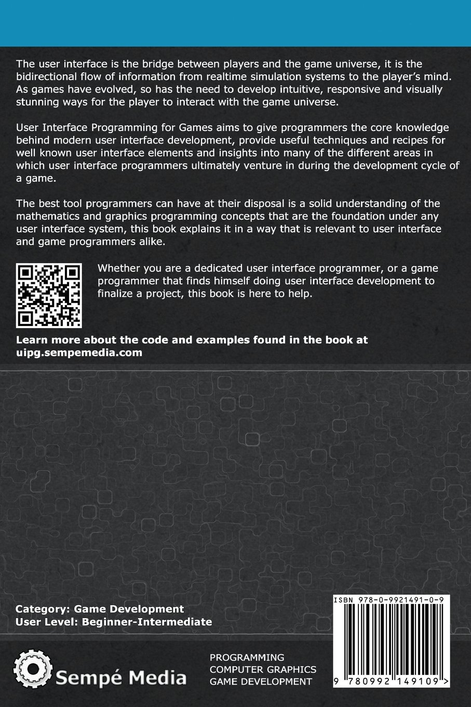 User Interface Programming for Games: Luis Sempé, Jason Gregory ...