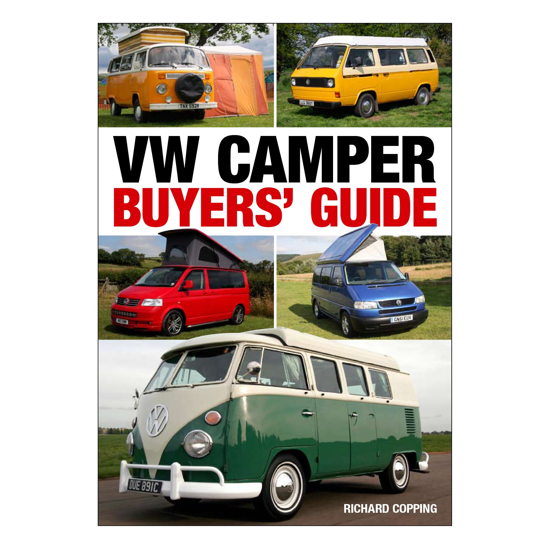 VW Camper Buyers' Guide by Richard Copping