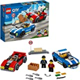 LEGO City Police Highway Arrest 60242 Police Toy, Fun Building Set for Kids