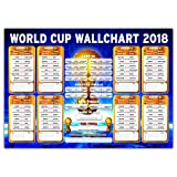 Amazon Price History for:Russia World Cup Wall Chart 2018 - Premium Quality Poster 23in x 16.5in Soccer Wallchart