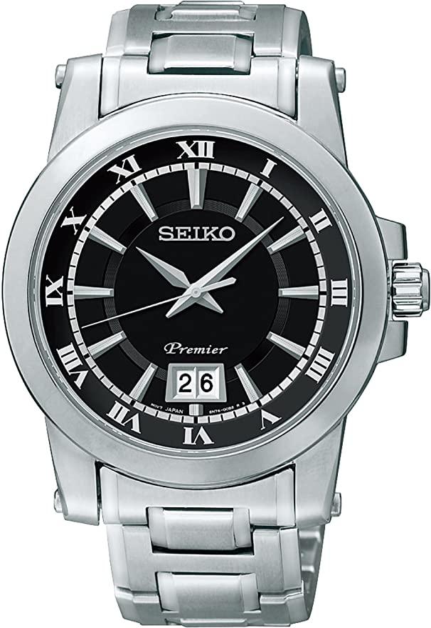 [セイコーウォッチ] 腕時計 プルミエ クオーツ サファイアガラス SCJL003 シルバー