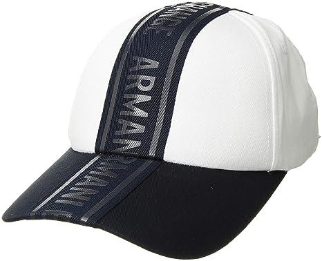 Armani Exchange A X Homme 9540478A310 Casquette de Baseball - Blanc - Taille  Unique a59f9bb2404