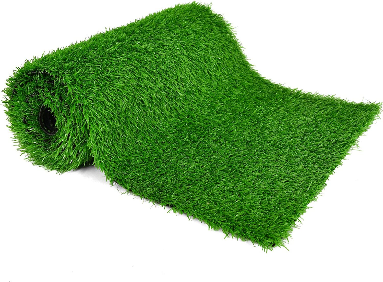 COYMOS Faux Grass Table Runner for Table Decoration Grass Rug Spring Summer Party Decor, 14 Inch x 72 Inch
