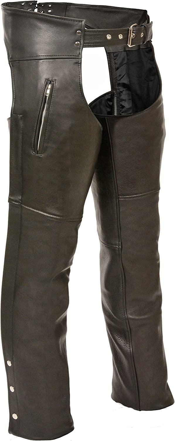 Milwaukee Leather Zippered Chaps