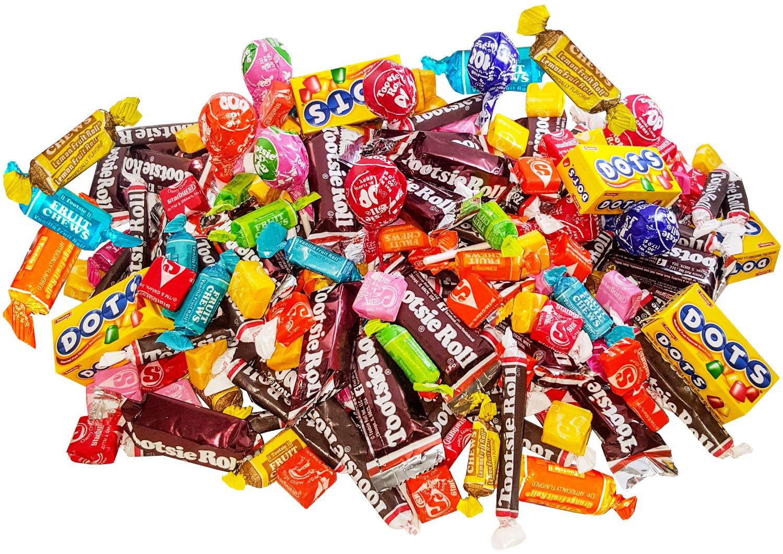 Bulk Starburst & Tootsie Favorites 9.5 Lb Candy Variety Value Bundle Care Package 400+ Pcs (152 Oz) by Assortit (Image #4)
