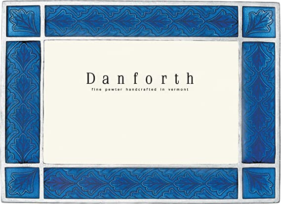 Gift Boxed Danforth Federal 4x6 Pewter Picture Frame - Handcrafted Classic