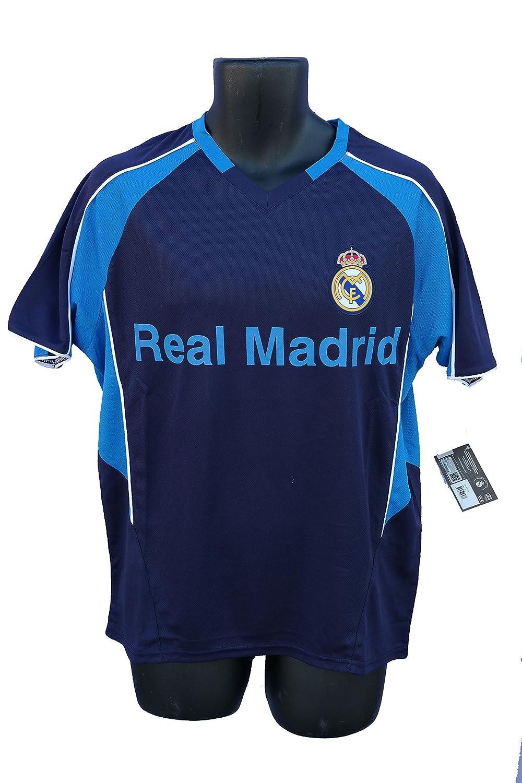 Real Madridサッカー公式大人用サッカートレーニングパフォーマンスPoly Jersey p002 Rhinox B06WWRJNCHAdult