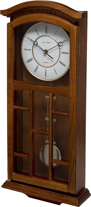 Fox and Simpson Kensington Reloj de péndulo, Madera, Roble