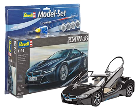 Amazon Com Revell Revell67008 Bmw I8 Model Set 131 Piece By Toys